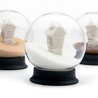 Sugar House snow globe | Designboom Shop