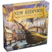 New Bedford: A Game of Historic Whaling & Town Building - Tabletop Haven