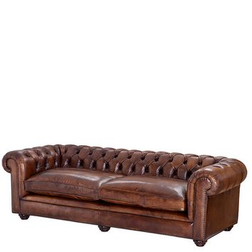 Leather Sofa | Eichholtz Club Gymnasium