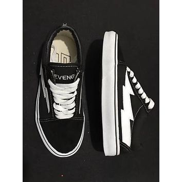 REVENGE x STORM NEW size35-44 New Unisex Low-Top & High-Top Adult Men's Canvas Shoes 2 colors Laced Up Casual Shoes Sneaker shoes