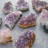 CHOOSE Your Raw Amethyst Cluster, Small Purple Crystal Gemstone, Mineral Specimen,Amethyst Druzy,  Metaphysical Supply, AMSM1