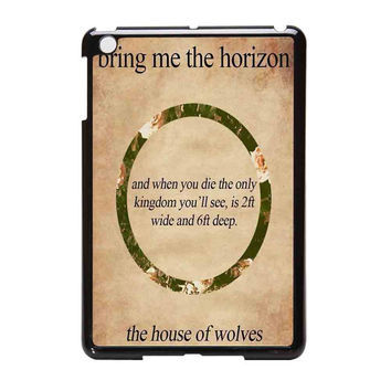 Bring Me To The Horizon Bmth 2Ft Wide 6Ft Deep iPad Mini Case