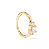 Maria Tash - 18-karat gold diamond earring