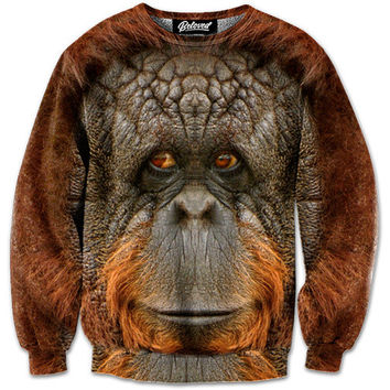 Orangutan Sweatshirt - READY TO SHIP