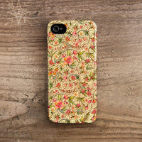 Birds iPhone 5 case birds iPhone 4 case iPhone 4s case flower iphone 4 case floral iphone 5 case designer artist iphone 5 case /187