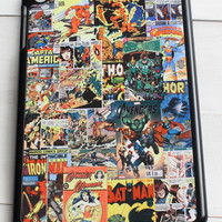 Superhero Comic Book Tablet Case