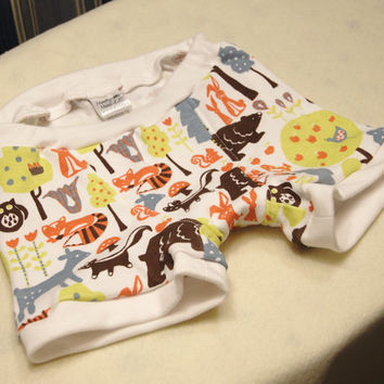 Forest life boys boxer briefs, boys underwear with bears, rabbits, foxes, deer, owl, and skunk, sizes 1T, 2T, 4T, 6, 8, 10 and trainers