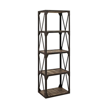 Industrial Chic Bookcase