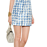 THE LOOK   Designer look with 'Heart Print Dress' from RED Valentino   Luxury fashion online   STYLEBOP.com