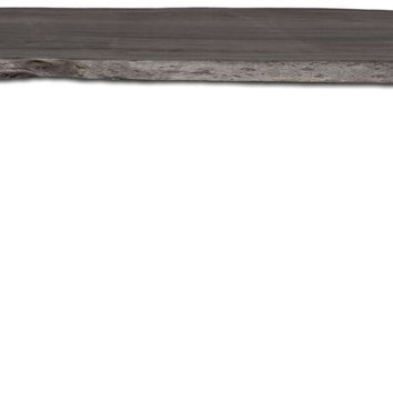 Angeles Crest Live Edge Dining Table GREY - CLEARANCE