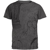 Science Geek Nerd Mens Soft T Shirt