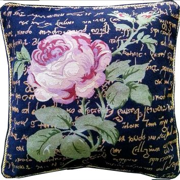 Tache Solitary Rose 18 x 18 Inch  Throw Cushion Pillow Cover