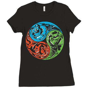 pokemon (2) Ladies Fitted T-Shirt