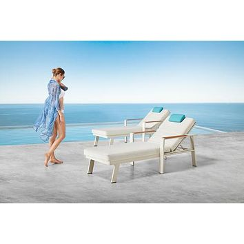 Outdoor Double Chaise | Higold Nofi