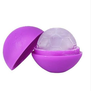 Silicone Star Football Round Ball Ice Cube Mold Tray Desert Sphere Mould