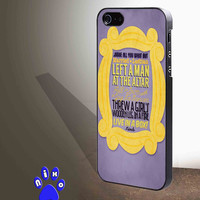 Friends TV quotes for iphone 4/4s/5/5s/5c/6/6+, Samsung S3/S4/S5/S6, iPad 2/3/4/Air/Mini, iPod 4/5, Samsung Note 3/4 Case **