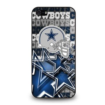 dallas cowboys 2 iphone 5 5s se case cover  number 1