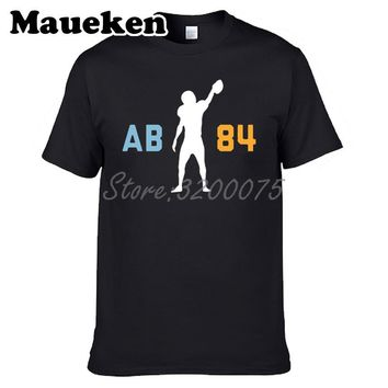Men T-shirt Antonio Brown 84 AB Clothes Pittsburgh T Shirt Men's for steelers fans gift o-neck tee W17061501