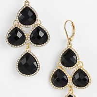 Anne Klein Stone Chandelier Earrings | Nordstrom