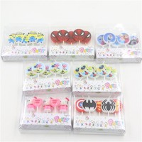 cartoon candle 5pcs pack new creative spider batman decorative candles birthday candles for cake decoration Bougie cake topper