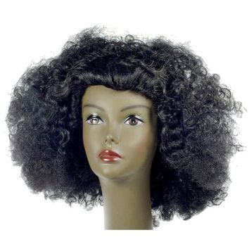 Afro Pulled Out Yellow Wig