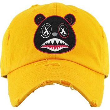 Bred Baws Yellow Dad Hat