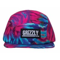 Grizzly Digi Tiedye 5 Panel - Men's at CCS