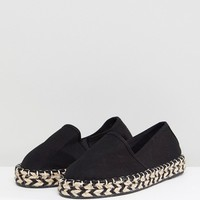 New Look Contrast Sole Espadrille at asos.com
