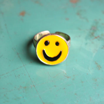 VTG 90's Smiley Face Ring