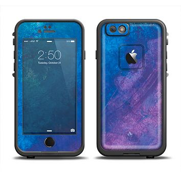 The Blue & Purple Pastel Apple iPhone 6 LifeProof Fre Case Skin Set