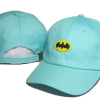 Batman Embroidered Baseball Cap Hat