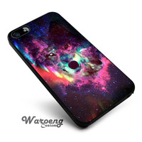 Wolf Galaxy iPhone 4s iphone 5 iphone 5s iphone 6 case, Samsung s3 samsung s4 samsung s5 note 3 note 4 case, iPod 4 5 Case