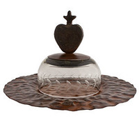 Jan Barboglio Corazon Quesera Platter | Rain Collection