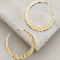 Old Moon Hoop Earrings