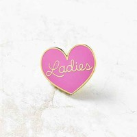 Big Bud Press Ladies Heart Pin