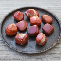 RED JASPER Crystal - Grounding Root Chakra Stone