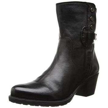 Clarks Womens Maymie Skye Leather Ankle Riding Boots