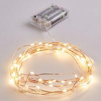 Clear Vintage Wire Warm Lights | String Lights | rue21