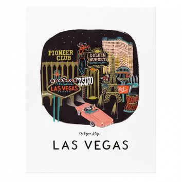 Las Vegas Art Print by RIFLE PAPER Co. | Made in USA