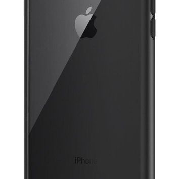 PEAPGQ6 Spigen Ultra Hybrid [2nd Generation] iPhone 7 Plus Case / iPhone 8 Plus Case with Clear Backing and Air Cushion Technology for iPhone 7 Plus (2016) / iPhone 8 Plus (2017) - Black