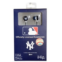 Nes Group New York Yankees Mlb Logo Baseball Earbuds