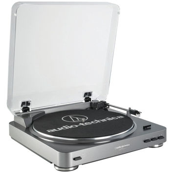 Audio Technica Fully Automatic Belt-drive Turntable (silver)