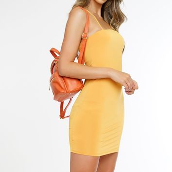 What I Like Dress - Yellow