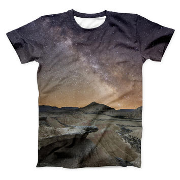The Desert Nights ink-Fuzed Unisex All Over Full-Printed Fitted Tee Shirt
