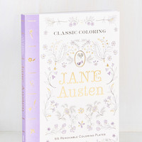 Thinking of You Austen Coloring Book | Mod Retro Vintage Books | ModCloth.com