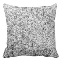 Willow tree leaves. Abstract art of Nature Throw Pillow