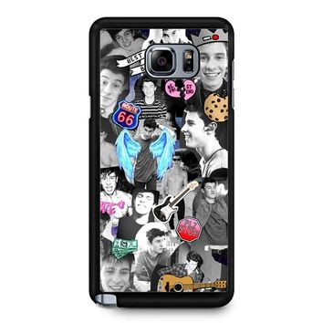 Shawn Mendes Collage 2 1 Samsung Galaxy Note 5 Case