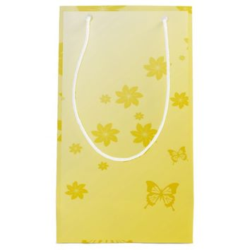 Sunshine Flowers n Butterflies Small Gift Bag