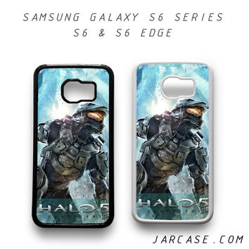halo 5 Phone case for samsung galaxy S6 & S6 EDGE