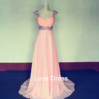 Sweetheart Floor-Length the prom dress / graduation dresses